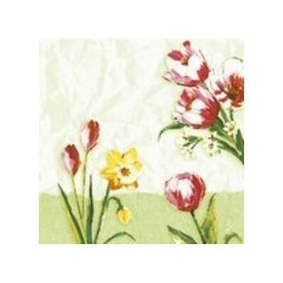 Duni classic szalvéta Red tulip 4rtg 40x40cm 6x50db/gyűjtő