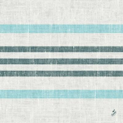 Duni classic szalvéta Raya blue 4rtg 40x40cm 6x50db/gyűjtő