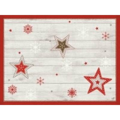 Duni papír alátét Cozy winter 30x40cm 4x250db/gyűjtő