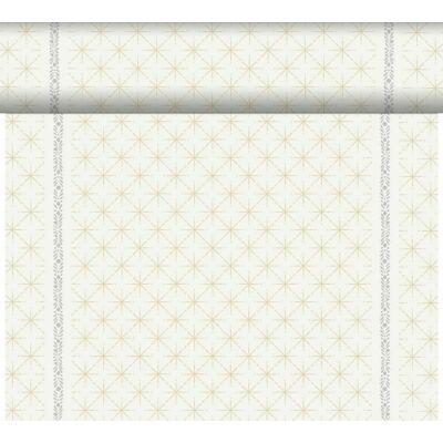 Dunicel Téte-a-Téte asztali futó Glitter white 0,4x24m 4tek/gyűjtő