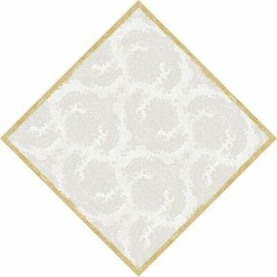 Dunicel asztalközép Royal white 84x84cm 5x20db/gyűjtő