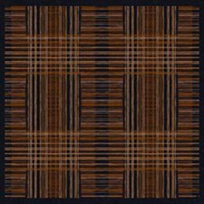 Dunicel asztalközép Brooklyn black 84x84cm 5x20db/gyűjtő