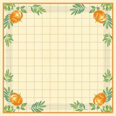Dunisilk asztalközép Pumpkin Spice 84x84cm 5x20db/gyűjtő