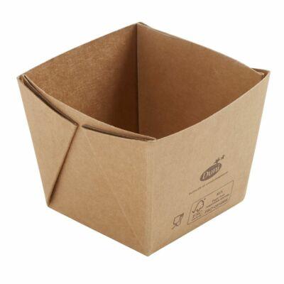 Duni Ecoecho Viking Cube Mini barna 250ml 300db/gyűjtő