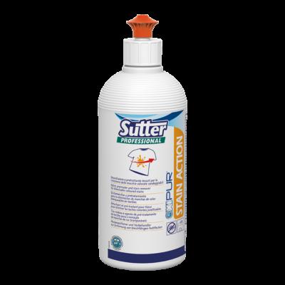 Sutter Stain Action folttisztító textilekhez fehéríthető színes foltokra 500ml 6db/gyűjtő