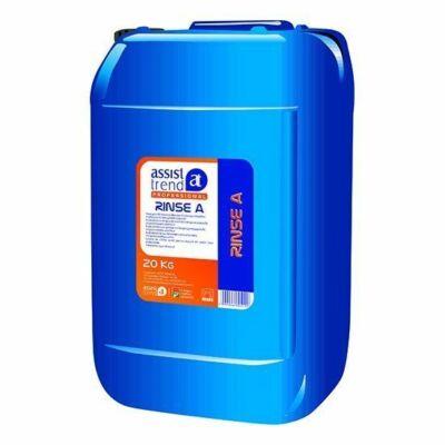 Assist-Professional Rinse A savas gépi öblítőszer professzionális mosogatógéphez 20kg