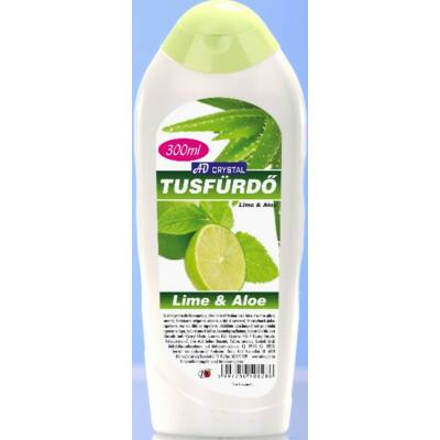 AD crystal Tusfürdő 300ml Lime and Aloe