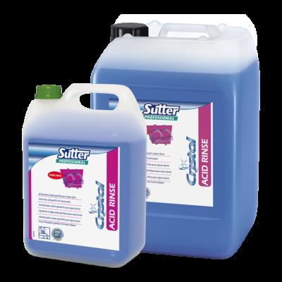 Sutter Acid Rinse öblítőszer mosogatógéphez kemény vízhez 5kg 4kanna/gyűjtő