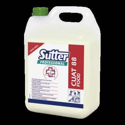 Sutter Cuat 88 Food lúgos tisztító-és fertőtlenítőszer 5kg 4kanna/gyűjtő