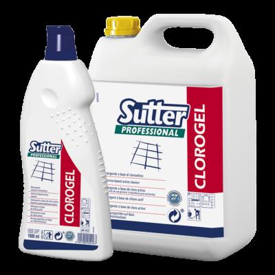 Sutter Clorogel általános tisztító- és fertőtlenítőszer 5kg 4kanna/gyűjtő