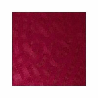 Duni Elegance szalvéta Lily bordeaux 40x40cm 6x40db/gyűjtő