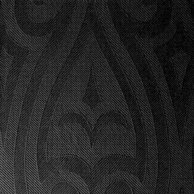 Duni Elegance szalvéta Lily black 40x40cm 6x40db/gyűjtő