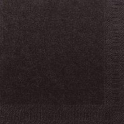 Duni szalvéta fekete 3r. 33cm 12*20db