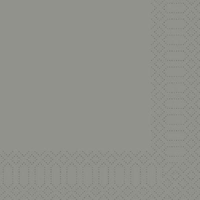 Duni szalvéta Granite grey 3rtg 33x33cm 4x250db/gyűjtő