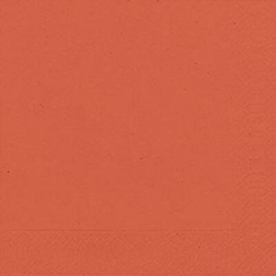Duni szalvéta Mandarin 3rtg 33x33cm 12x20db/gyűjtő