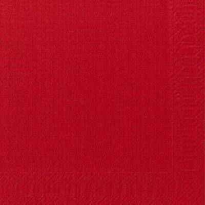 Duni szalvéta piros 2rtg 24x24cm 8x300db/gyűjtő