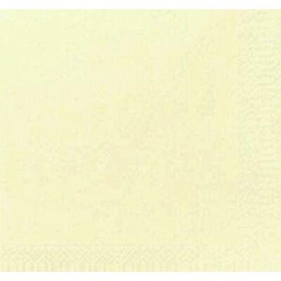 Duni szalvéta krém  3rtg 24x24 8x250db/gyűjtő