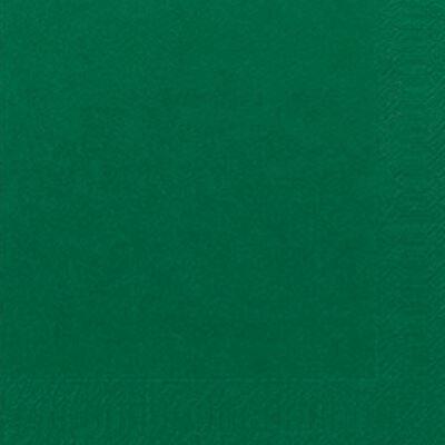 Duni szalvéta Dark green 3rtg 33x33 4x250db/gyűjtő