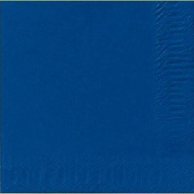 Duni szalvéta Dark blue 3rtg 33x33 4x250db/gyűjtő