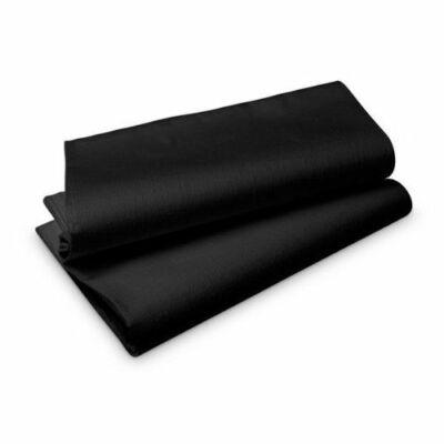 Duni Evolin asztalterítő fekete 127x220cm 1x25db/gyűjtő