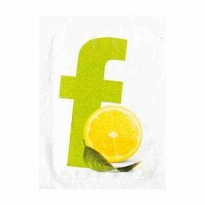 Duni frissítő kendő citrom 7,1x5,1cm 1000db/gyűjtő