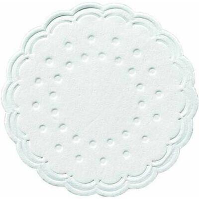 Duni poháralátét fehér 8rtg D7,5 12x250db/gyűjtő
