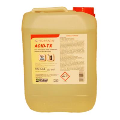 INNOFLUID ACID TX fékezett habzású vízkő- és rozsdaoldó 5L