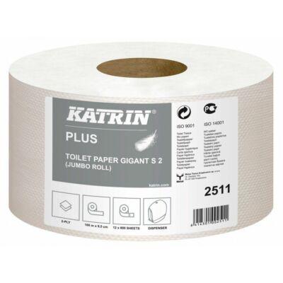 Katrin Plus Gigant S 2 rétegű közületi toalett papír 1x12tekercs