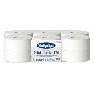 BulkySoft prémium mini jumbo toalettpapír 2rtg M9 D19 170m cell 12tek/gyűjtő