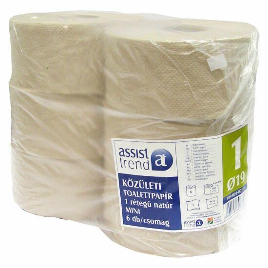 Trend mini toalettpapír natúr 1rtg M9 D19 180m 900lap rec 6tek/gyűjtő