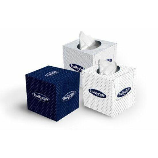 BulkySoft cube kozmetikai kendő 2rtg 20,5x20,5cm 24x90db/gyűjtő