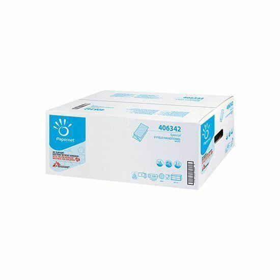 Papernet Special V hajtogatott kéztörlő 2rtg 250 lap 15cs/karton