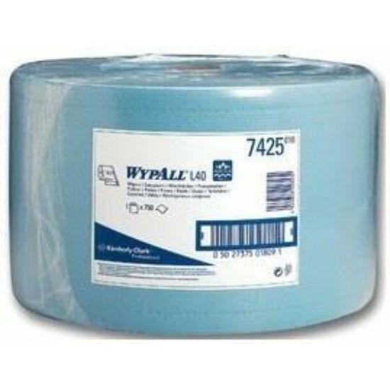 Wypall L40 ipari törlőpapír kék M23,5 D38 285m 750lap 1tek/gyűjtő