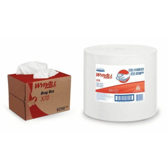 Wypall X70 ipari törlőpapír 1rtg M31,5 D37 296m 870lap 1tek/gyűjtő