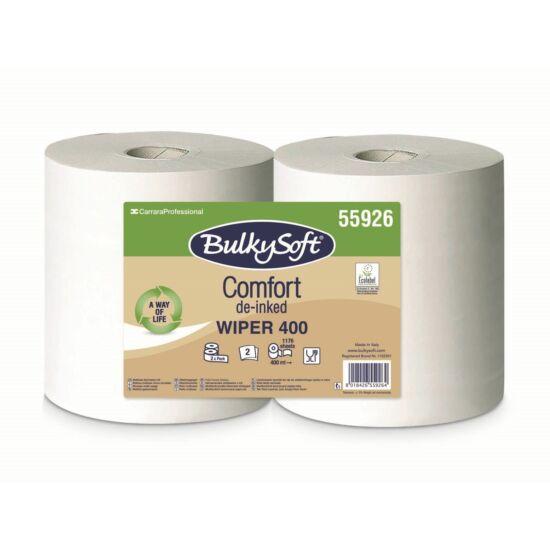 BulkySoft comfort ipari törlőpapír 2rtg M24 D30 1176lap 400m fehérített 2tek/gyűjtő