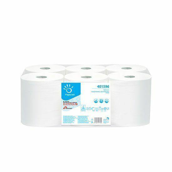 Papernet Special belsőmagos tekercses kéztörlő 2rtg 137,25m pure cell 6tek/zsák