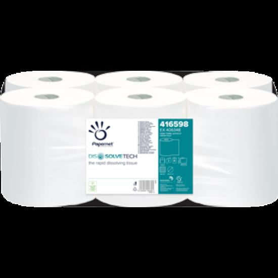 Papernet Superior DissolveTech autocut tekercses kéztörlő, 2rtg, cell, fehér, 140m