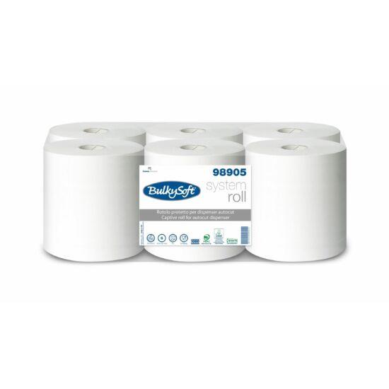 BulkySoft captive system autocut ipari törlőpapír 2rtg M21 D19 200m cell 6tek/gyűjtő