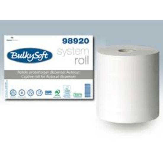 BulkySoft captive system autocut ipari törlőpapír 2rtg M21 D18 150m cell 6tek/gyűjtő