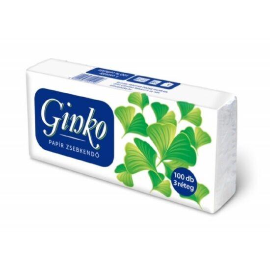 Ginko papírzsebkendő 3rtg cell 50x100db/gyűjtő