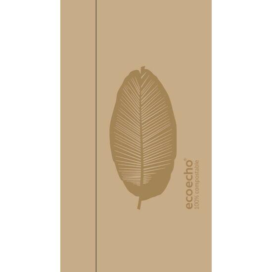 Duni Ecoecho szalvéta Organic barna adagolóba 1rtg 33x32cm 6x750db/gyűjtő