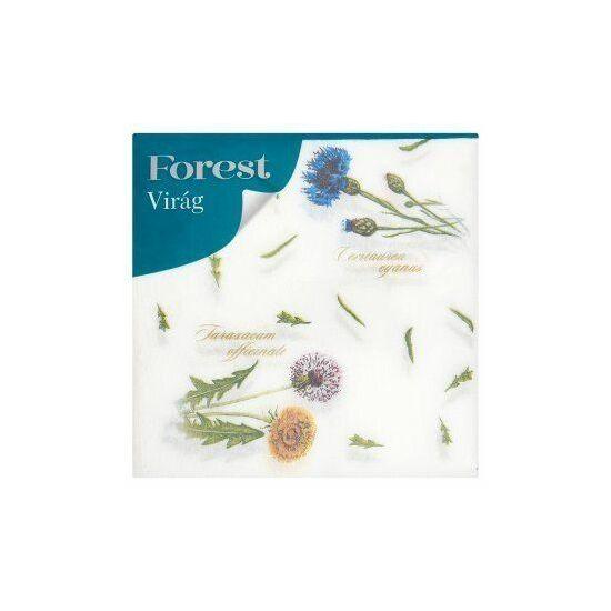 Regina Virág mintás szalvéta 1rtg 33x34cm 20x60db/gyűjtő