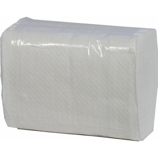 Fagyi szalvéta V hajtogatott fehér 1rtg 12x17,6cm 36x150db/gyűjtő