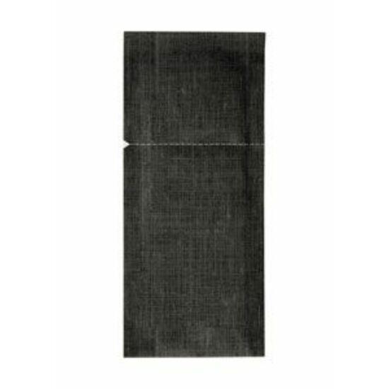 Dunisoft sacchetto zárható fekete/fehér 26x11,3cm 4x60db/gyűjtő