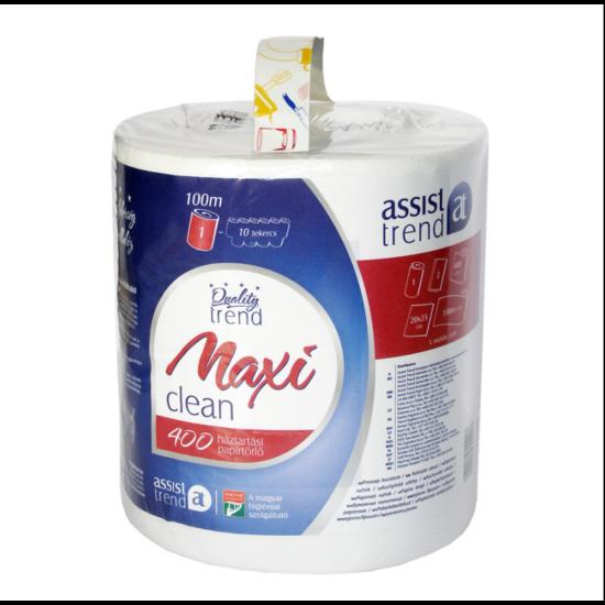 Maxi Clean belsőmagos törlőpapír natúr 2rtg M20,5 D20 400lap 100m cell 6tek/gyűjtő