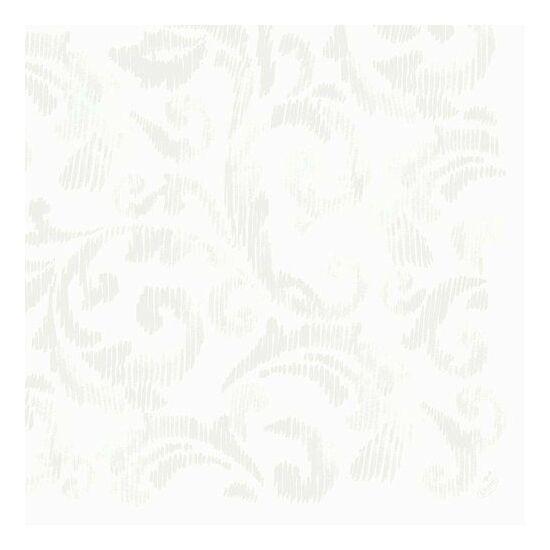 Dunilin szalvéta Saphira white 40x40cm 12x45db/gyűjtő