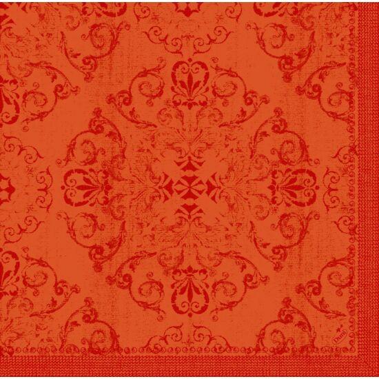 Dunilin szalvéta Opulent Mandarin 40x40cm 12x45db/gyűjtő