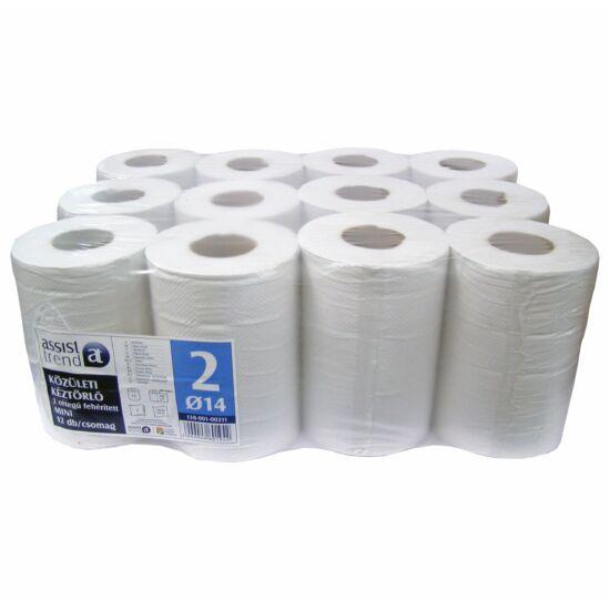 Trend belsőmagos törlőpapír 2rtg M20 D14 78m 390lap fehérített 12tek/gyűjtő