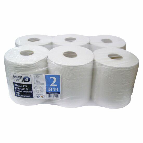 Trend belsőmagos törlőpapír 2rtg M20 D19 156m 780lap fehérített 6tek/gyűjtő