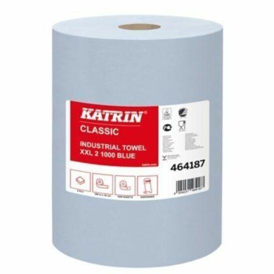 Katrin classic XXL2 ipari tekercses törlőpapír kék 2rtg M38 D29 1000lap 380m rec 2tek/gyűjtő